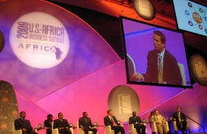 BRIAN ON PANEL WITH AFRICAN PRESIDENTS 011[1]